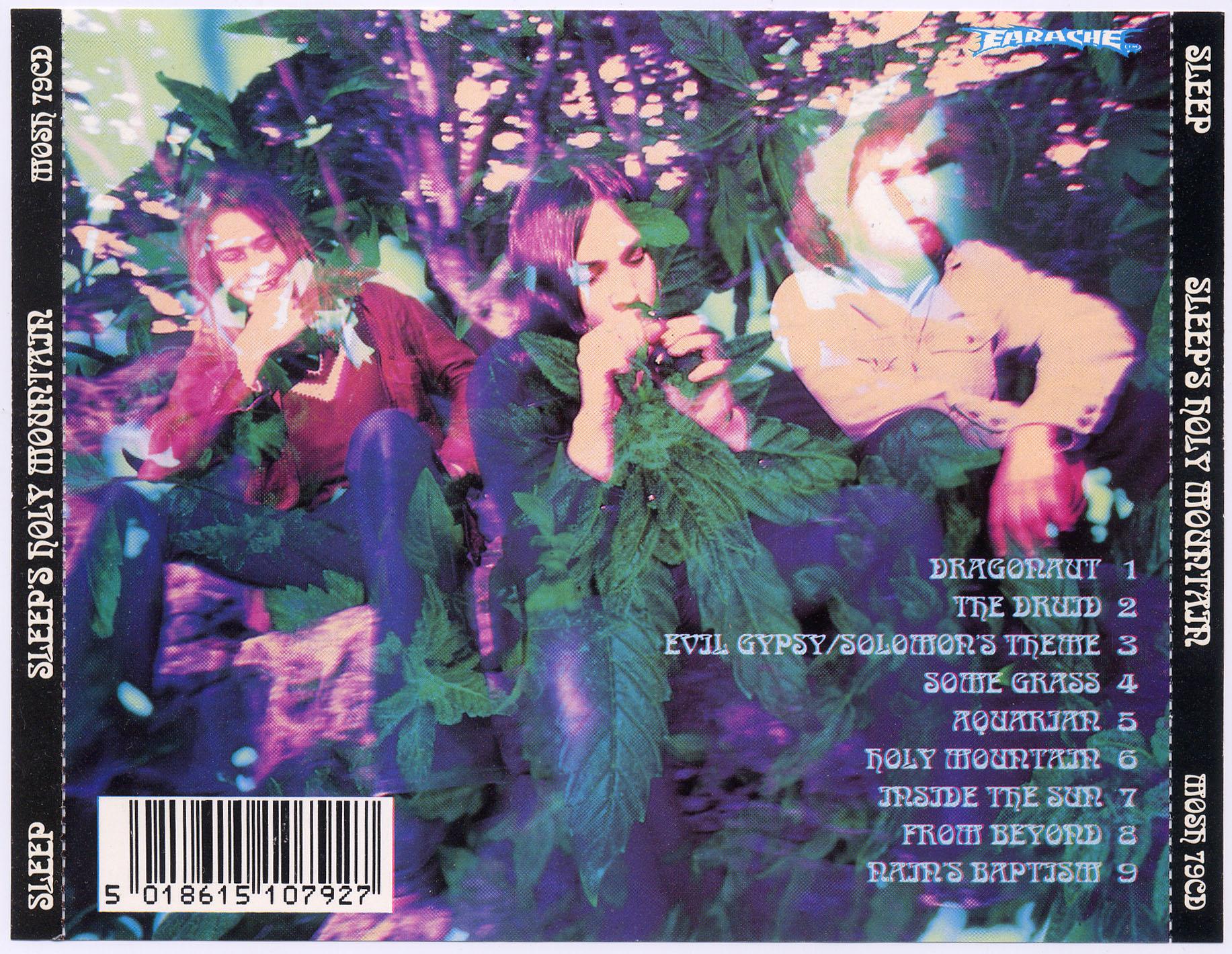 Sleep – Sleep's Holy Mountain (1993, Earache) | PERFECTION