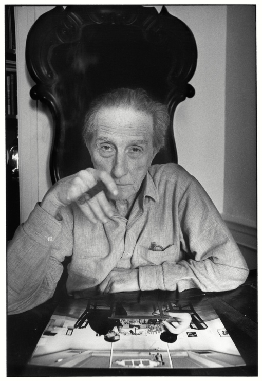 Marcel Duchamp by Ugo Mulas