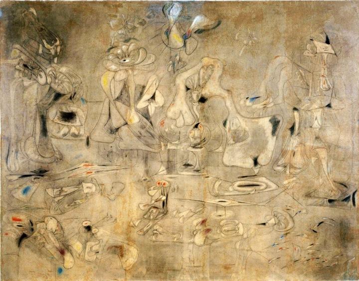 Arshile Gorky ~ Summation, 1947 [MoMA]