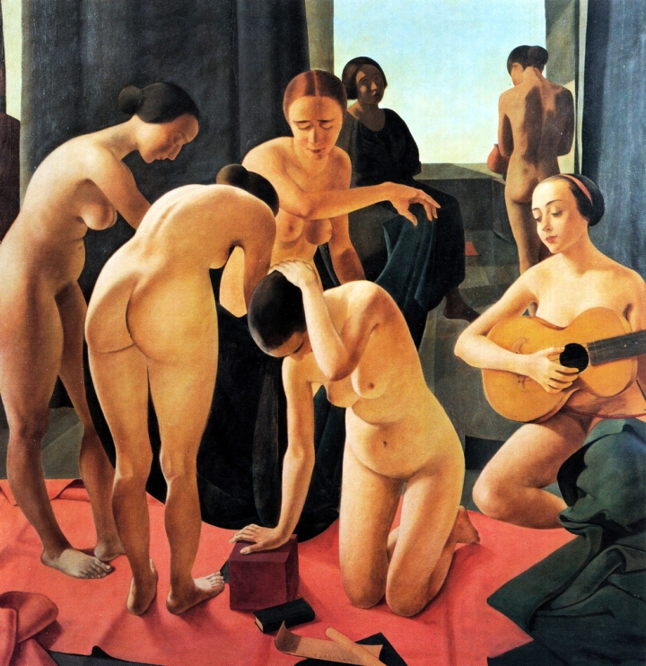 Concerto (Felice Casorati, 1924)
