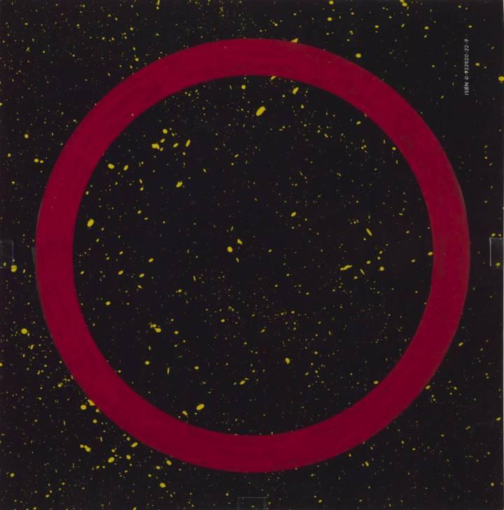 Vowel #98 (O) 1996 by Edward Ruscha born 1937
